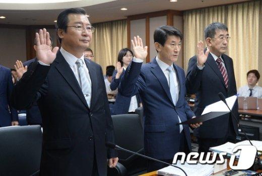 [사진]헌법재판소 국정감사 시작