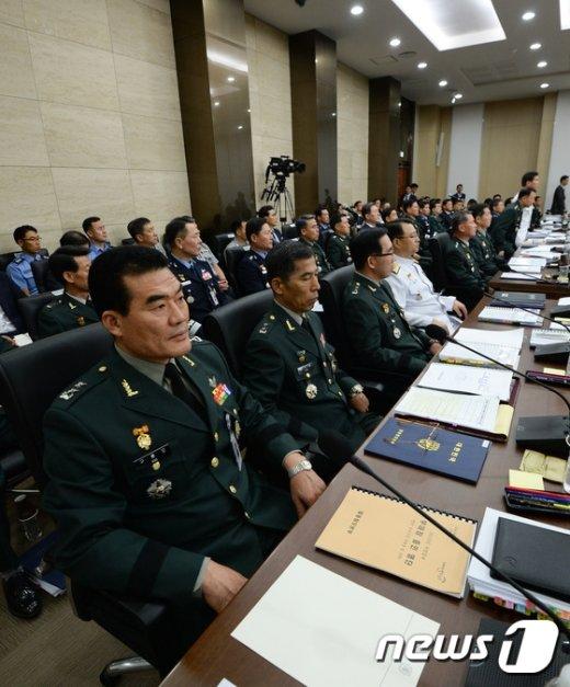 [사진]합동참모본부 국정감사