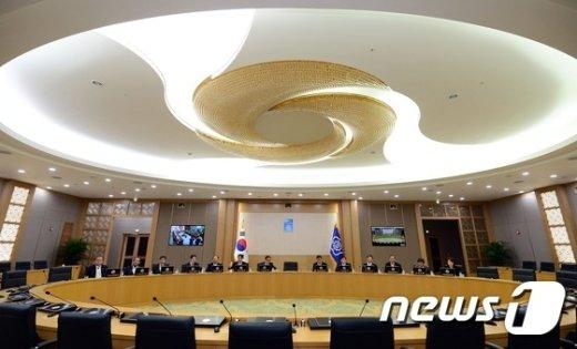[사진]세종청사 국무회의