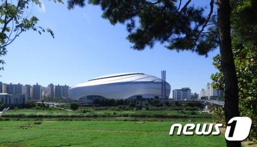 고척스카이돔 외부 전경 (사진=서울시 제공) 2015.9.15/뉴스1© News1