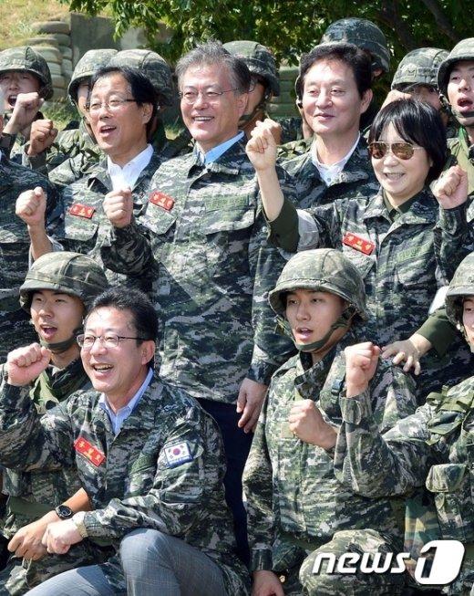 [사진]국방위, 연평도 부대 방문