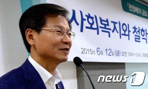 천정배 무소속 의원. ©News1 박정호 기자