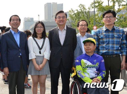 [사진]'2015 서울 차 없는 날 걷기 퍼레이드'
