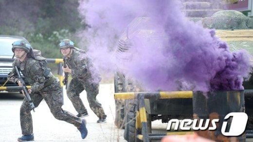 [사진]'선진화된 예비군훈련 기대해'