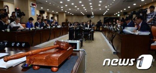 """野 """"靑증인 빠진 메르스 국감 무의미""""…내일 복지위 파행 우려"""