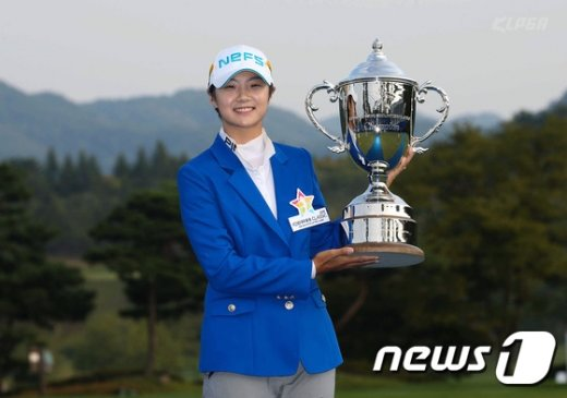[사진]박성현, '우승했어요'