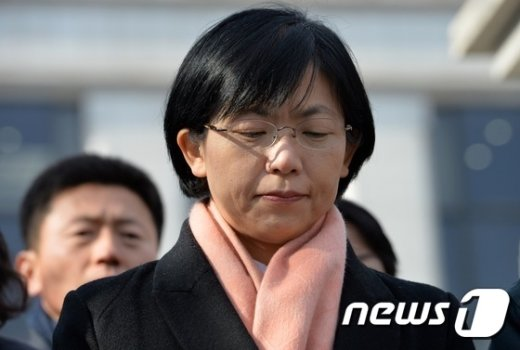 이정희(46) 전 통합진보당 대표. /뉴스1 © News1 손형주 기자