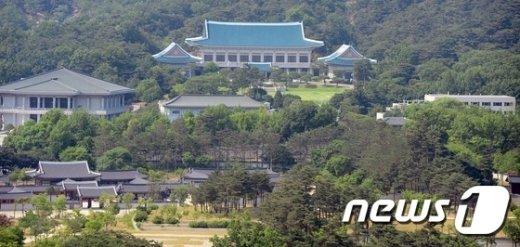 청와대 전경. /뉴스1 © News1 양동욱 기자