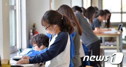 [사진]추석연휴에 수능준비하는 수험생들