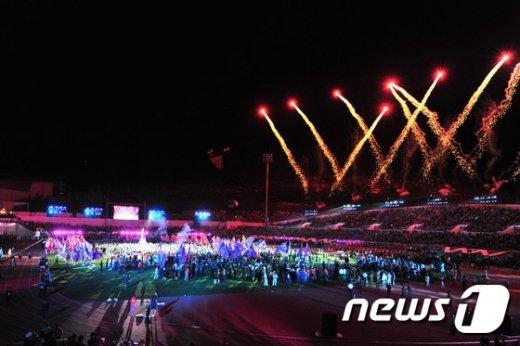 [사진]화합의 불꽃쇼