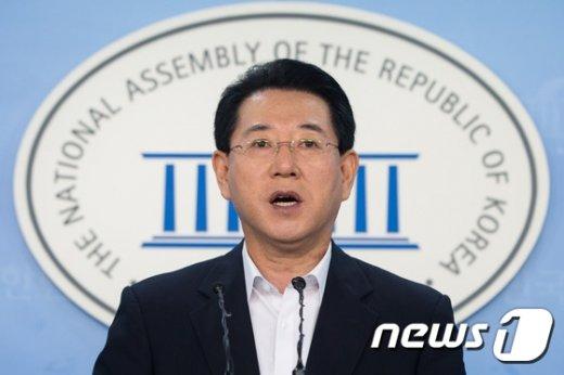 김영록 새정치민주연합 수석대변인. © News1 유승관 기자