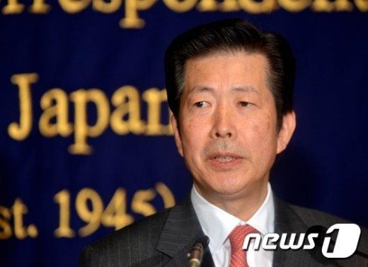 야마구치 나쓰오(山口那津男) 일본 공명당 대표. © AFP=뉴스1