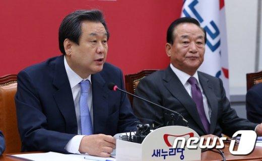 [사진]모두발언하는 김무성 대표