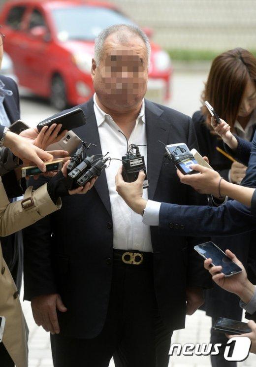 [사진]에드워드 리 아버지, 패터슨에 대한 공판준비기일 참석
