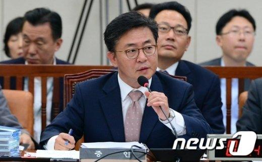 홍용표 통일부 장관. 2015.9.11/뉴스1 © News1 양동욱 기자