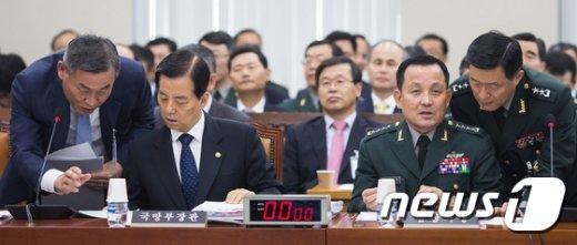 [사진]국방부 종합감사