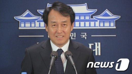 [사진]신임 청와대 대변인에 정연국 MBC 전 시사제작국장
