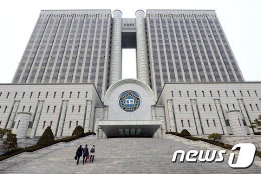 서울 서초동 서울중앙지법 청사. /뉴스1 © News1 정회성 기자