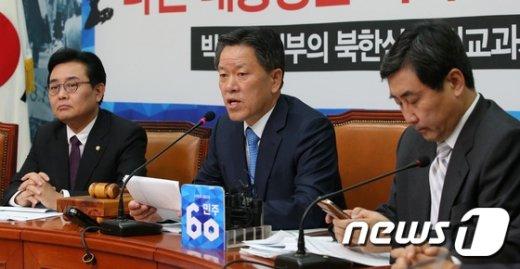 [사진]모두발언하는 주승용 최고위원