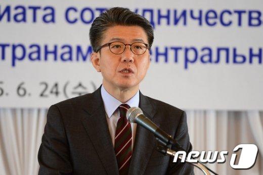 김홍균 외교부 차관보.
