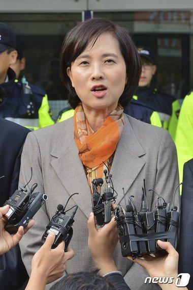 새정치민주연합 유은혜 대변인. . /뉴스1 © News1 신웅수 기자