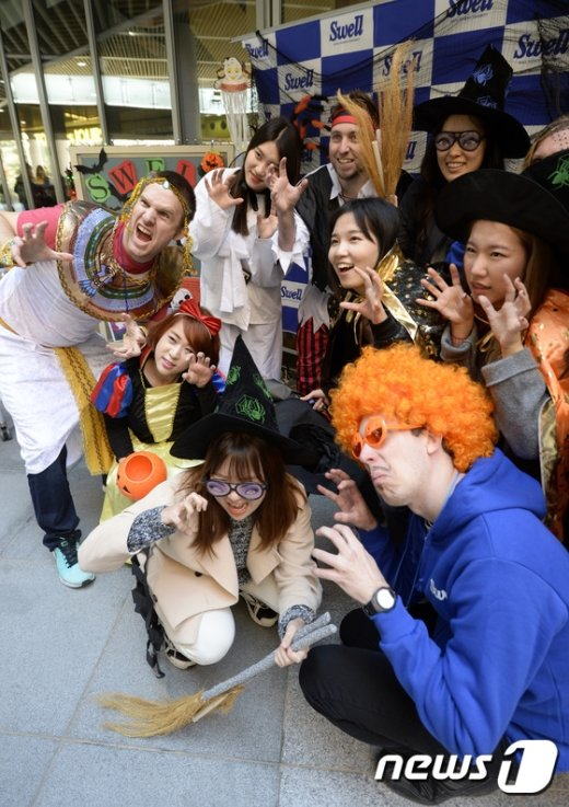 [사진]서울여대, 다문화 체험 행사 '스웰로윈' 개최