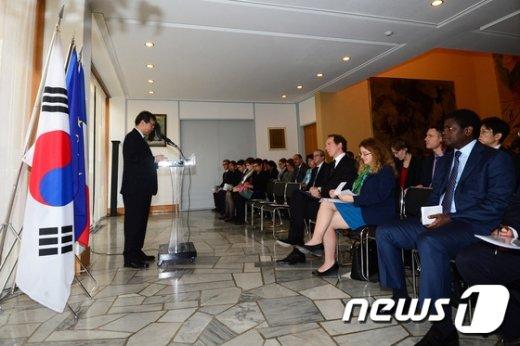 [사진]프랑스 대사관에서 열린 기후변화 녹색기후기금 행사