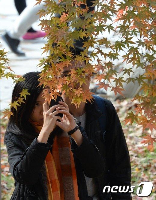 [사진]'가을을 담자'