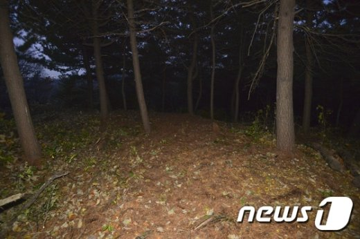 [사진]김영삼 전 대통령 묘역 예정 부지