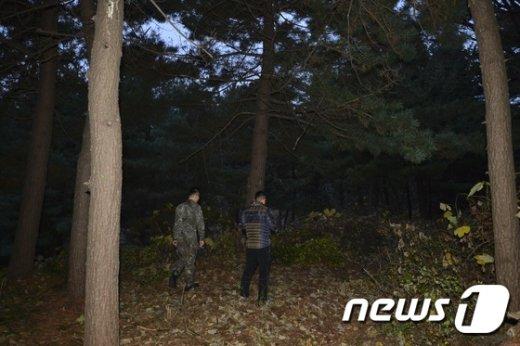 [사진]故 김영삼 전 대통령 묘역 예정지