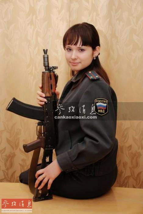 러시아 여군의 풍채