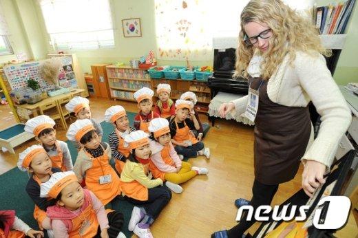 [사진]송파구 '올바른 식습관을 배워볼까요'