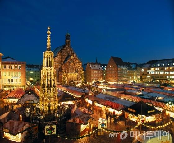 독일 뉘른베르크의 크리스트킨들 시장/사진제공=독일관광청