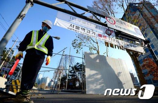 [사진]서울역고가 폐쇄