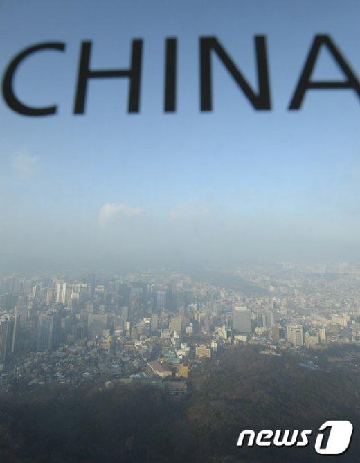 [사진]'중국발 스모그가 온다'