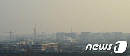 [사진]뿌연 서울하늘