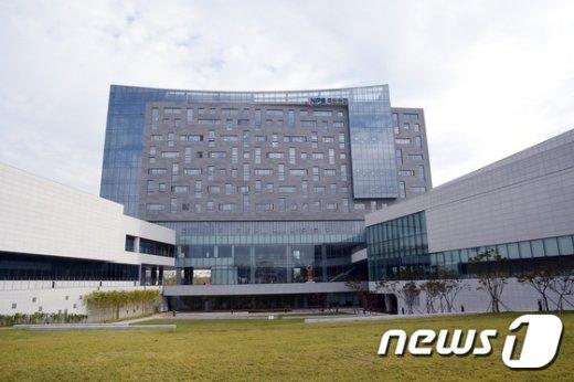 전북 혁신도시 국민연금관리공단 전경./© News1 박제철 기자