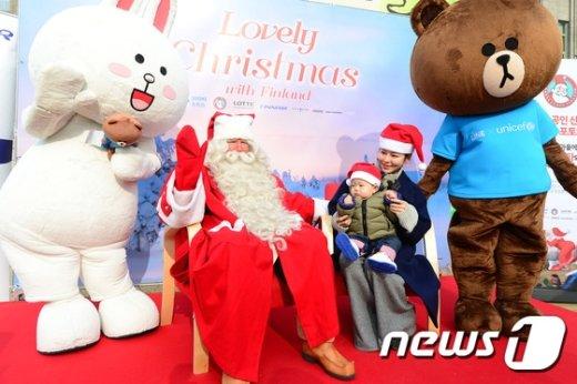 [사진]핀란드에서 온 산타
