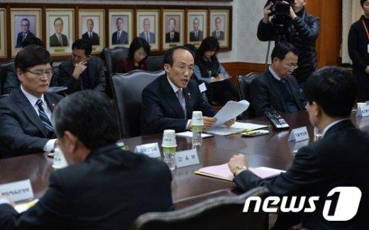 [사진]추경호 국무조정실장 '누리과정 예산 편성해야'