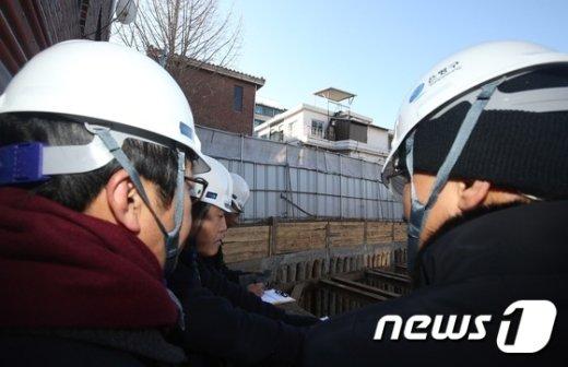 [사진]녹번동 건설 사고, 원인은?