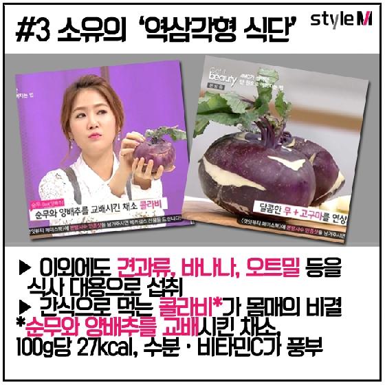 """[카드뉴스] """"오늘부터 시작해"""" 설현·이하늬·소유의 3色 다이어트 식단"""