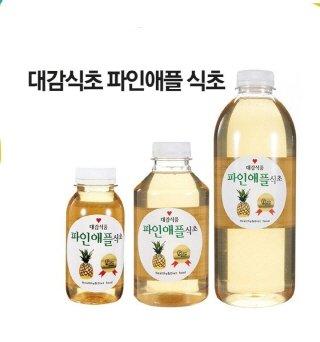 파인애플식초/사진제공=대감식품