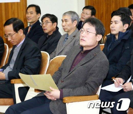 [사진]조희연 서울시교육감, 시설.공업직렬 공무원 직무연수 참석