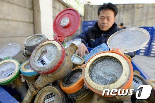 [사진]'동장군 성큼'