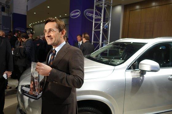 2016 북미 올해의 SUV(트럭·유틸리티)로 볼보 XC90이 선정됐다./사진=장시복 기자
