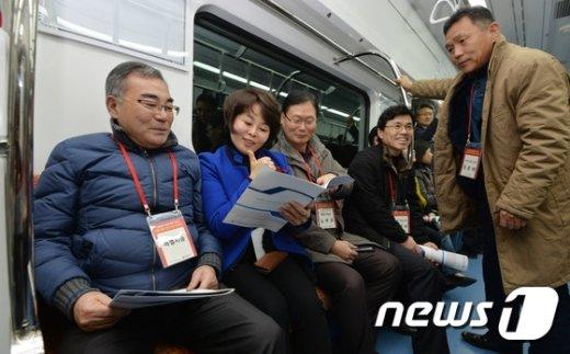 [사진]'신분당선 연장 최고'