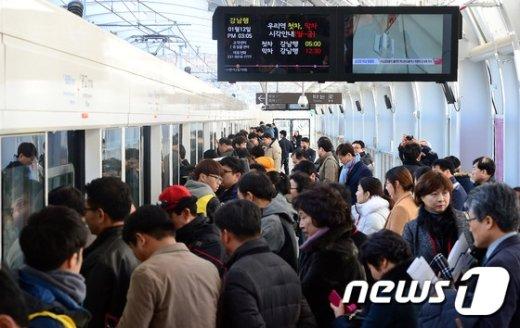 [사진]'강남까지 39분' 개통 앞둔 신분당선 연장