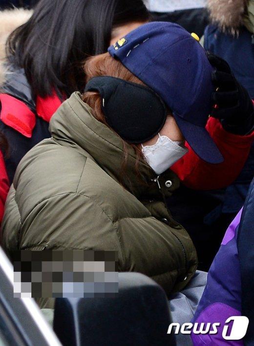 [사진]부천 초등생 아들 시신 훼손 사건 현장검증 나선 모친
