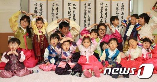 [사진]성동구 '새해 복많이 받으세요!'