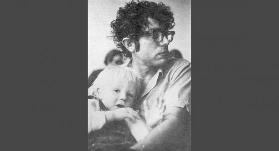 71년 선거운동 당시 두살 반이던 아들 레비 샌더스와 함께/사진=버몬트 프리맨